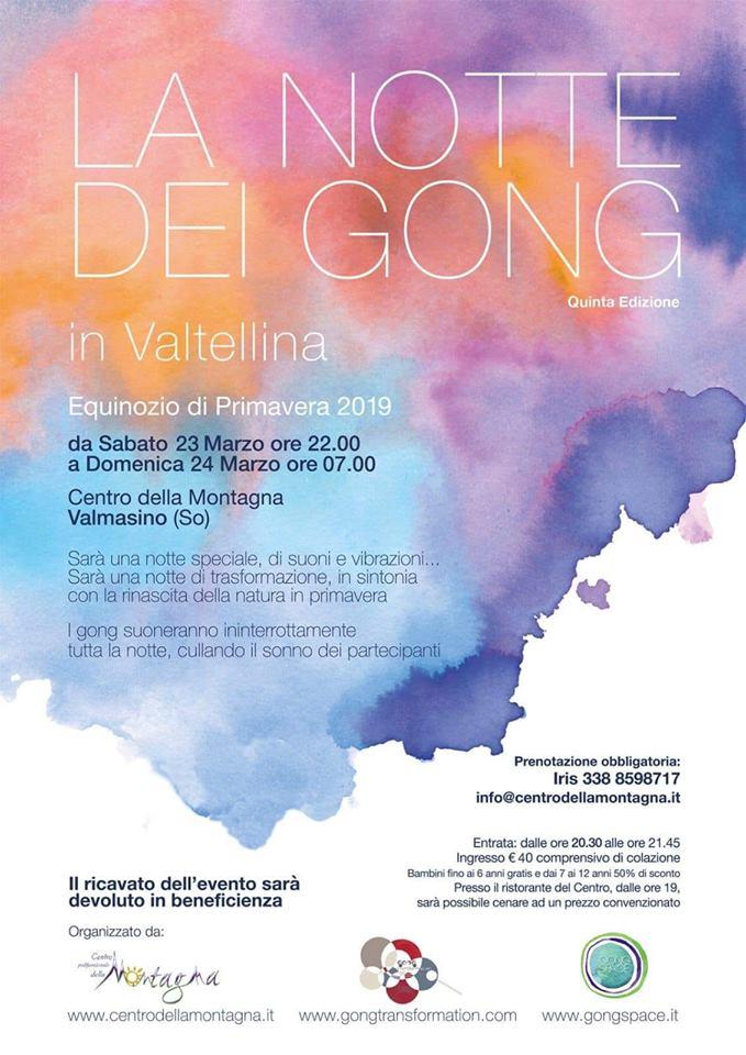 Notte dei Gong 2019 - Valtellina